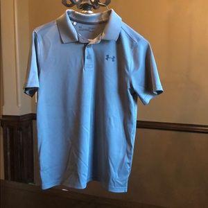 Under Armour Heatgear athletic shirt sleeve Polo